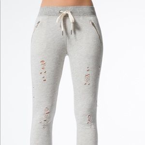 N:philanthropy deconstructed sweatpants small gray